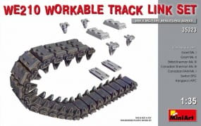 WE210 Workable Track Link Set / 1:35