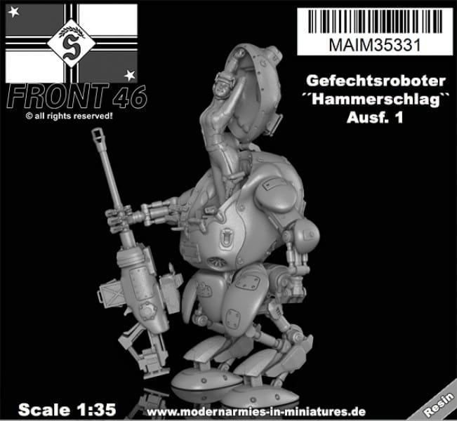MAiM / Front46 Gefechtsroboter ´´Hammerschlag`` -Schwabenland Army- Front46 / 1:35