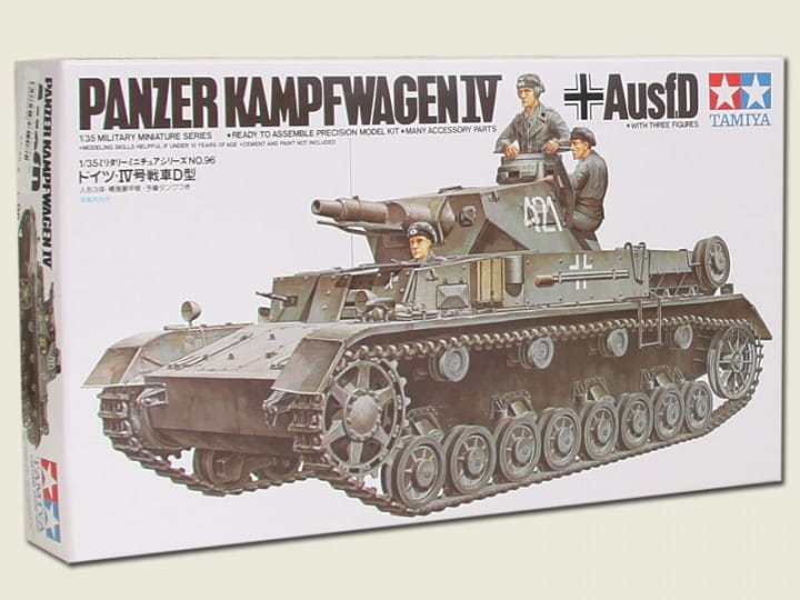 Tamiya Panzer IV Ausf. D / 1:35