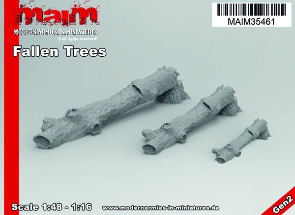 Fallen Trees Set (3 trees incl.) / Uniscale