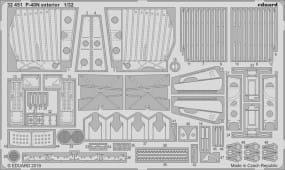 P-40N exterior - Trumpeter - / 1:32