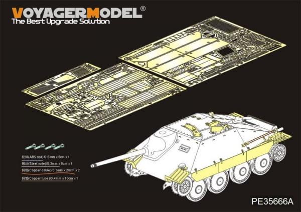 WWII German Hetzer Tank Destroyer (For DRAGON 6030) / 1:35