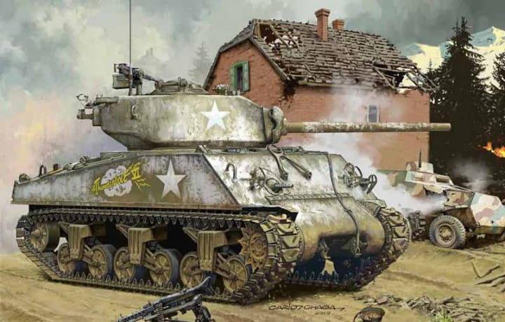 Meng Models U.S.Medium Tank M4A3 (76) W / 1:35