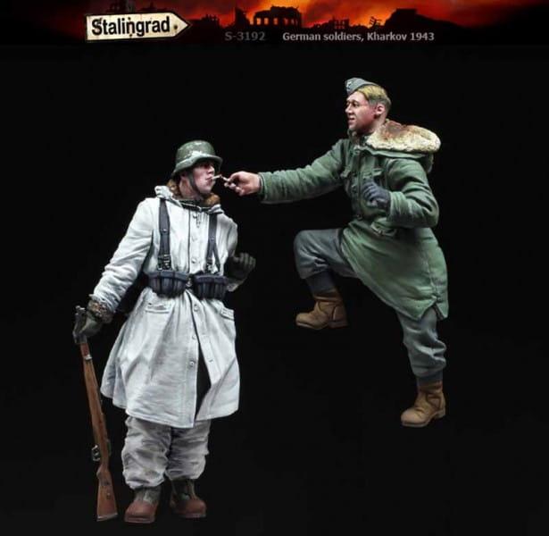 German soldiers, Kharkov 1943 / 1:35