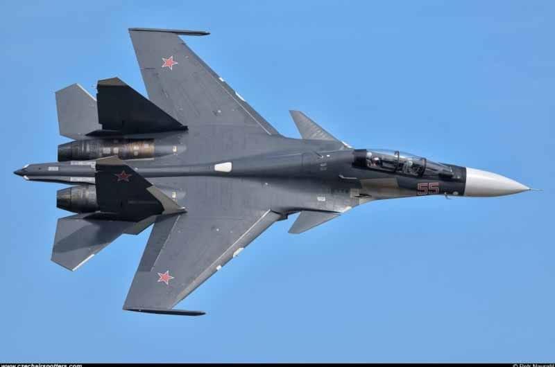 Sukhoi Su-30Sm Flanker C Aircraft Caccia Bombardiere Kit ZVEZDA 1:72 ZS7314 Mini