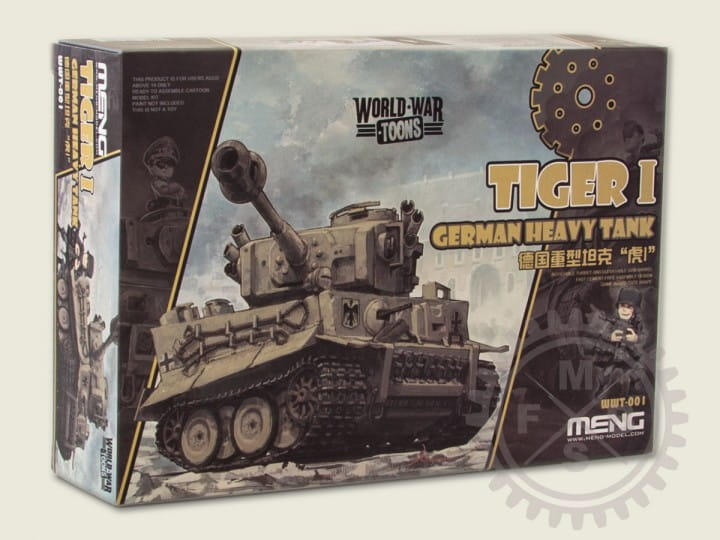 Meng Models World War Toons: German Heavy Tank Tiger I