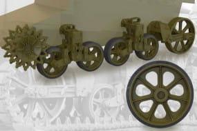 US light tank M3/M3A1/M5 suspension set / 1:35