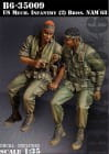U.S. Mech. Infantry (2) Brothers Nam 1968 / 1:35