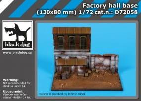 Factory hall base / 1:72