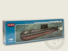 Project 685 Plavnik/Mike-class,Soviet nuclear powered submarine / 1:350