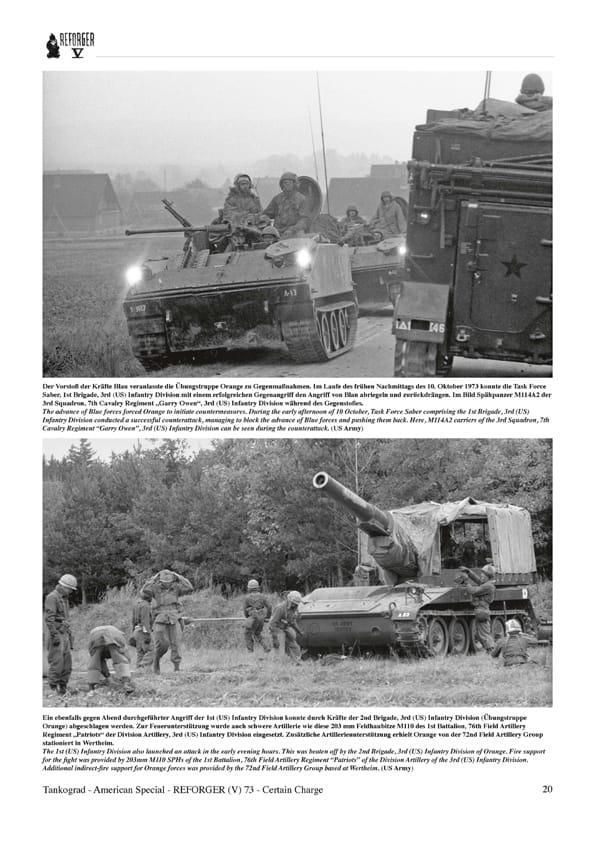 Verstärkung der Nato Panzer-Modellbau//Fotos//Manöver Tankograd 3037 Reforger 73