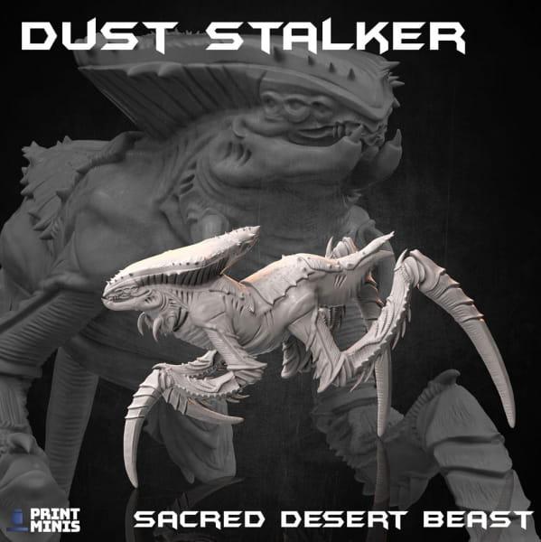 Dust Stalker; Desert Alien Beast -Dieselpunk Desert Collection-